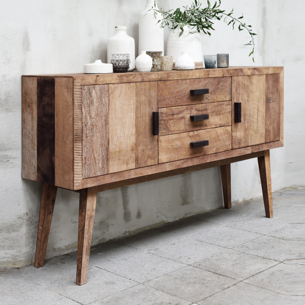 Teak retro dressoir