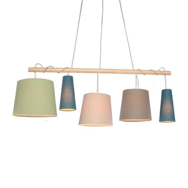 Plafondlamp hout