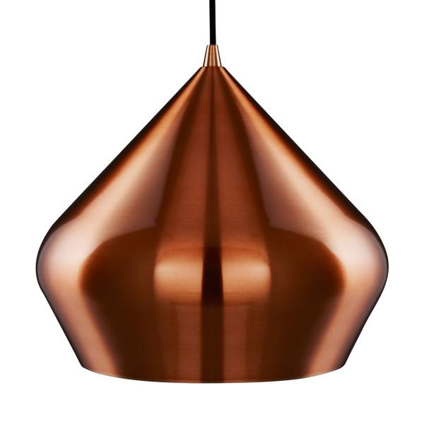 Retro design hanglamp koper
