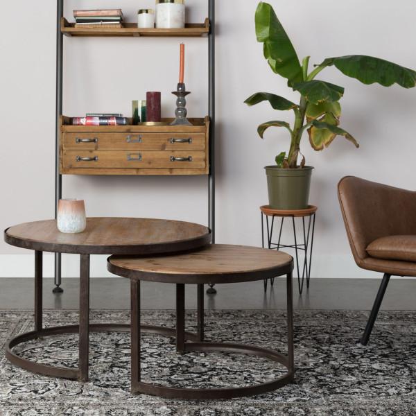 Set ronde salontafels