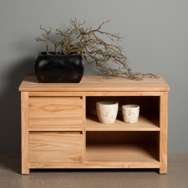 TV meubel hoog model - 2 lades - 100cm