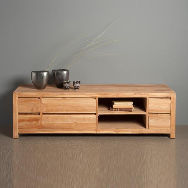 TV meubel hoog model - 6 lades - 170cm