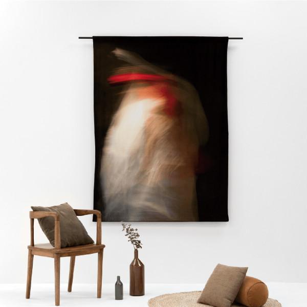 Wandkleed Fluweel