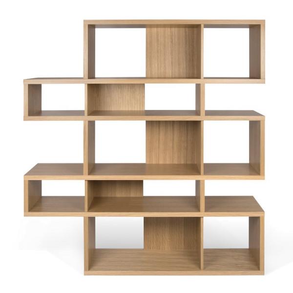 Design boekenkast eiken 160 cm