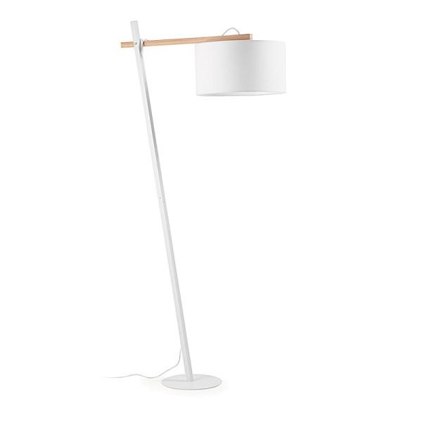 Moderne vloerlamp van metaal
