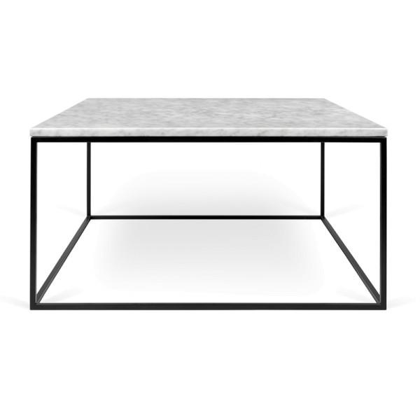 Witte salontafel marmer 75 cm
