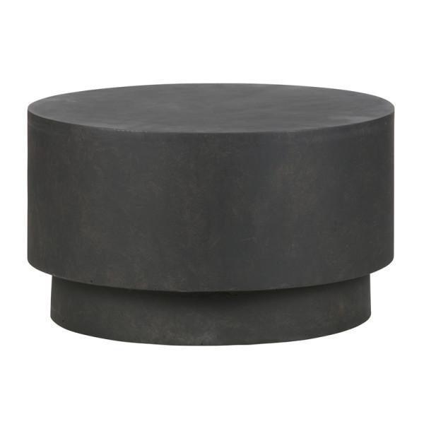 Ronde terrastafel bruin 60 cm