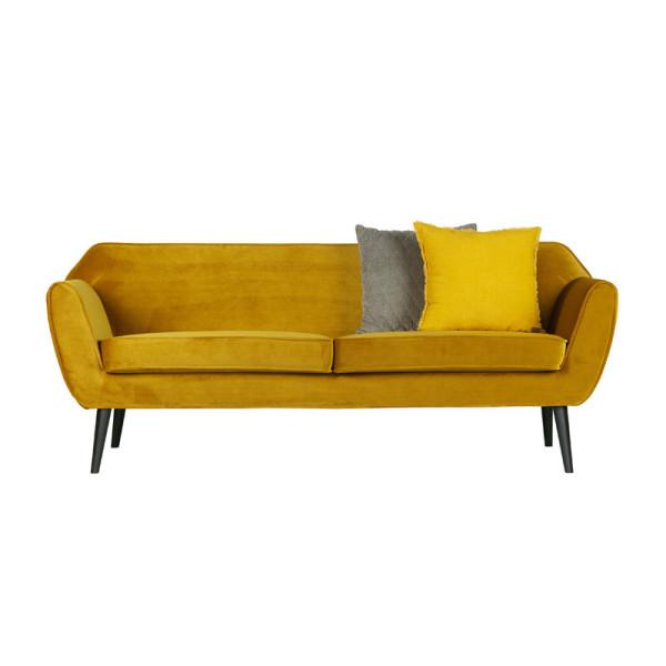 Fluwelen sofa