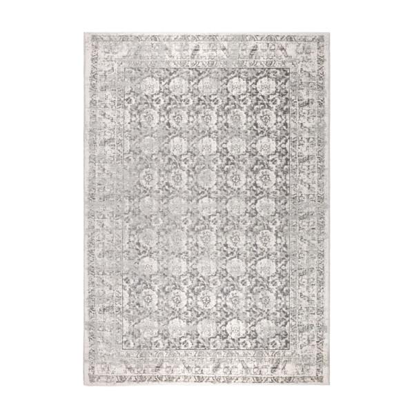 Licht grijs geweven tapijt