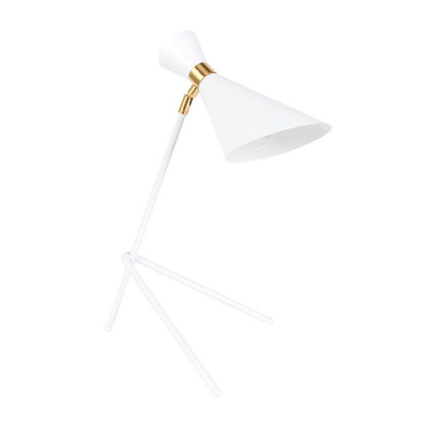 Design leeslamp met goud