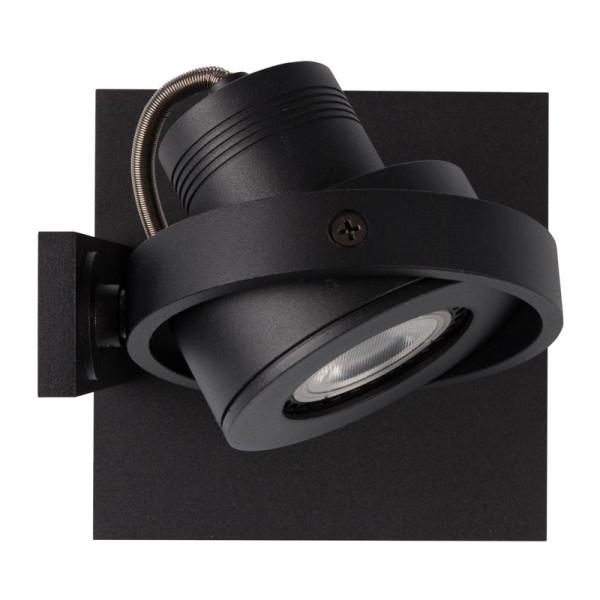 Zwarte moderne LED spot