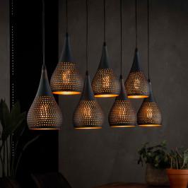 7-delige druppelvormige hanglamp