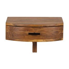 Hangend nachtkastje van hout