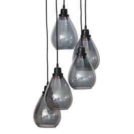 Trapse hanglamp druppel glas