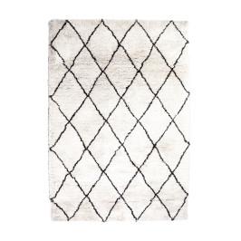 Vloerkleed ruitpatroon