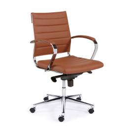 Design bureaustoel van PU-leder