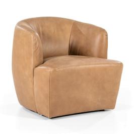 Lederen design fauteuil