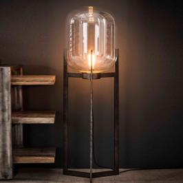 Glazen vloerlamp