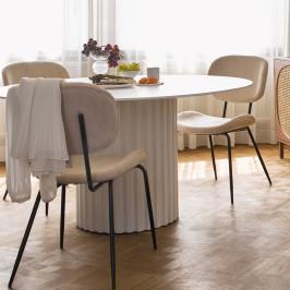 Ronde eettafel in Griekse stijl