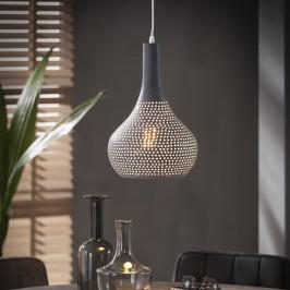 Industriele grijze hanglamp