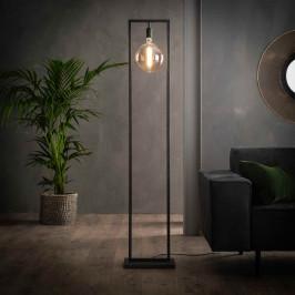 Industriële vloerlamp met rechthoekig frame