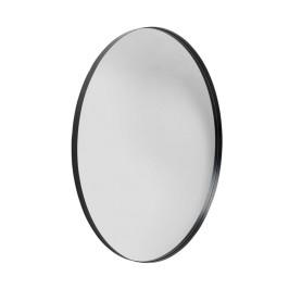 Grote ronde spiegel zwart 100cm