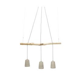 Betonnen hanglamp rustiek