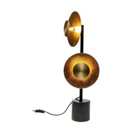 Design tafellamp met goud