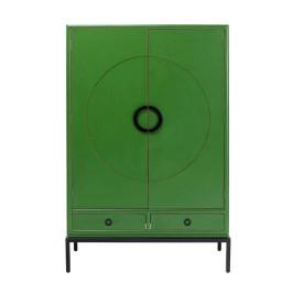 Groene design kledingkast