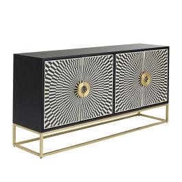 Design dressoir zwart-wit