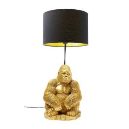 Tafellamp gouden gorilla
