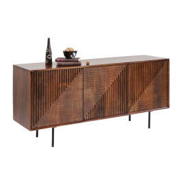 Bruin houten dressoir