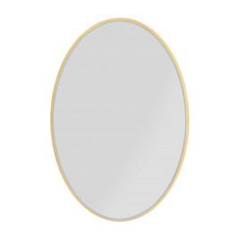 Ovalen spiegel goud