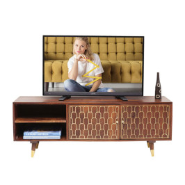 Mangohouten tv-meubel