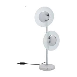 Design tafellamp chroom