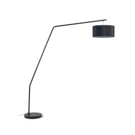 Zwarte booglamp modern