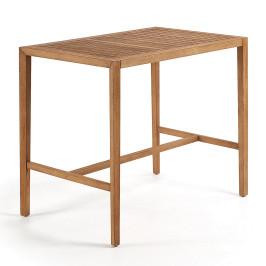 Buiten bartafel van hout