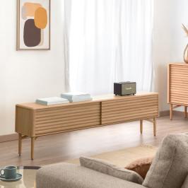 Retro tv-meubel eiken