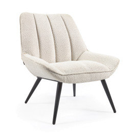 Witte boucle fauteuil