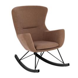 Bruine schommelstoel