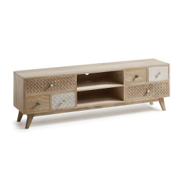 Authentiek TV-meubel van hout