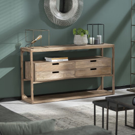 Massief mangohouten dressoir
