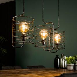 Metalen hanglamp industrieel design