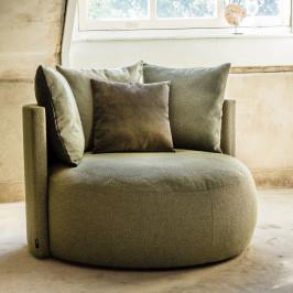 Grote ronde fauteuil samenstellen