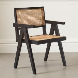 Retro fauteuil met webbing