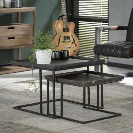 Vierkante nesttafelset