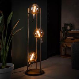 Vloerlamp met 3 steunringen