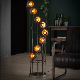Vloerlamp met metalen bollen