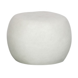 Witte beton bijzettafel