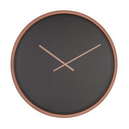 Zwarte klok koper